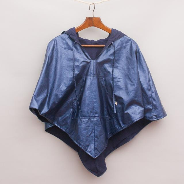 Kinder Cobbler Metallic Poncho