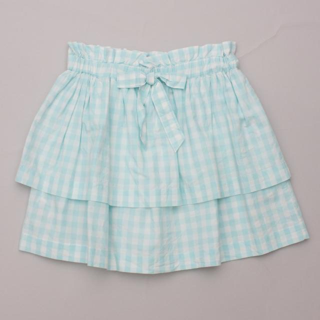 Country Road Check Skirt