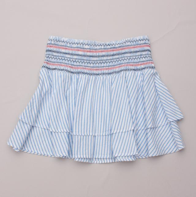 Seed Striped Skirt