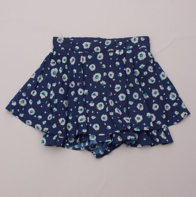 Lili Gaufrette Floral Skirt