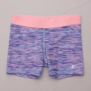 Old Navy Patterned Bike Shorts