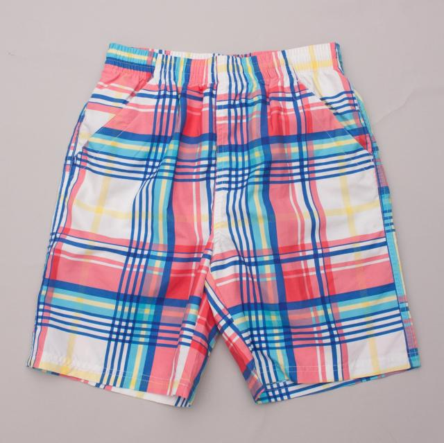 Mish-Mish Check Shorts