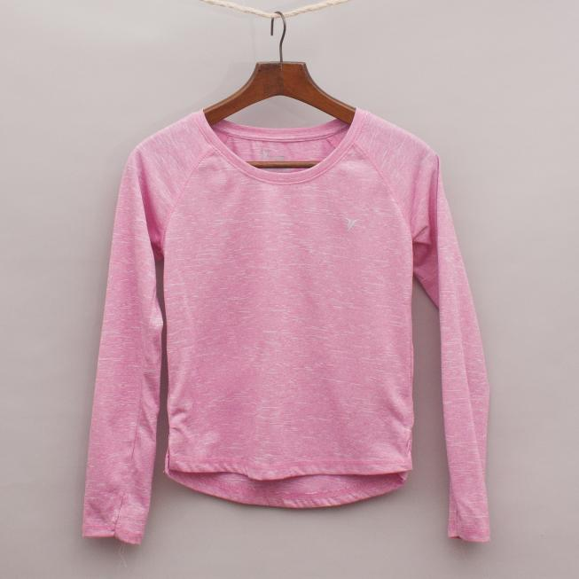 Old Navy Long Sleeve Sports Top