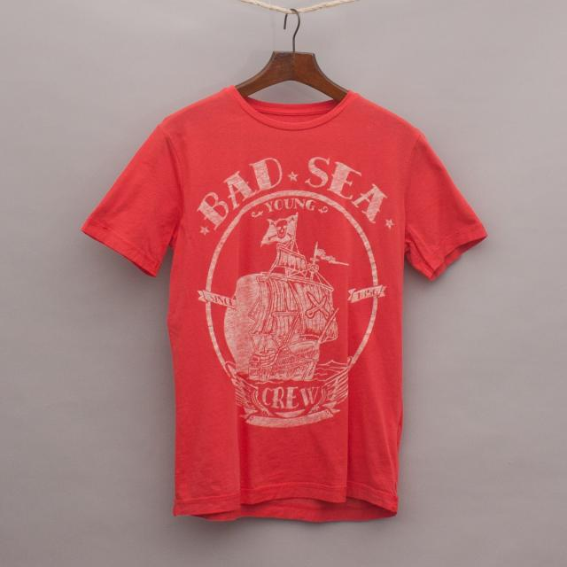 Zara Pirate Ship T-Shirt