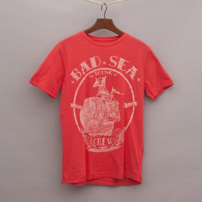 Zara Pirate Ship T-Shirt