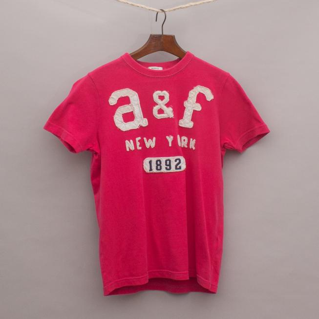 Abercrombie Embroidered T-Shirt