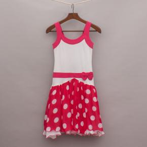 Lofff Polka Dot Body Con Dress