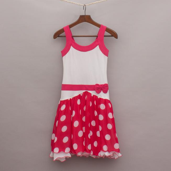 Lofff Polka Dot Body Con Dress