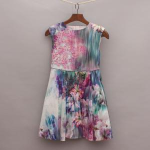 Next Floral Printed Dress