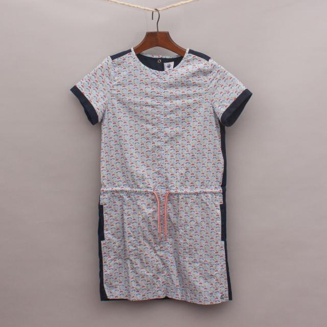 Petit Bateau Contrasting Dress