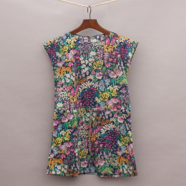 Hundred Pieces Floral Dress