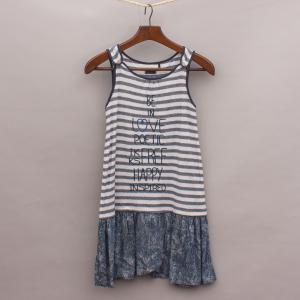 IKKS Striped Singlet Top Dress
