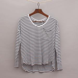Decjuba Striped Long Sleeve Top