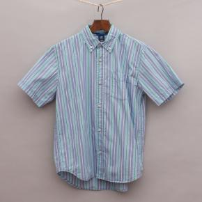 Gap Striped Short Sleeve Shirt