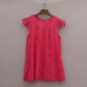 United Colours of Benetton Embroidered Dress