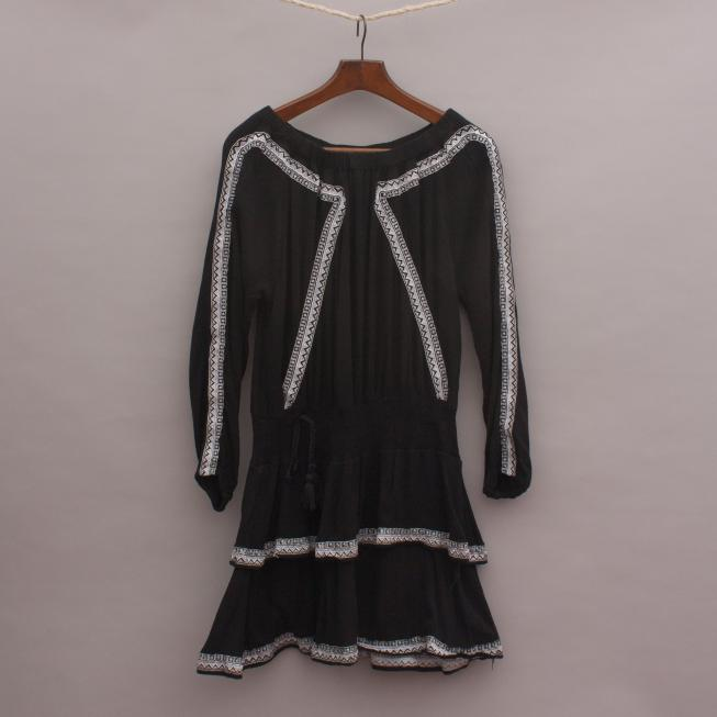 Seed Embroidered Dress