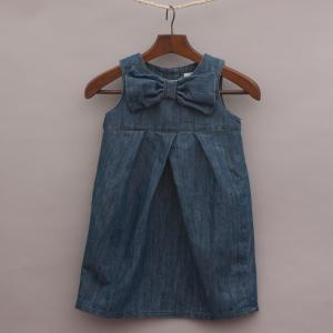 Next Denim Bow Dress