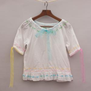 Jelly Fish Sheer Top