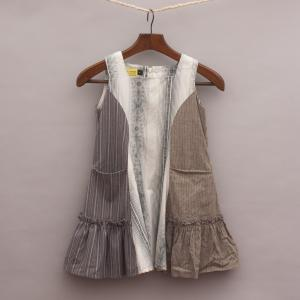 Chalk N Cheese Paneled Dress