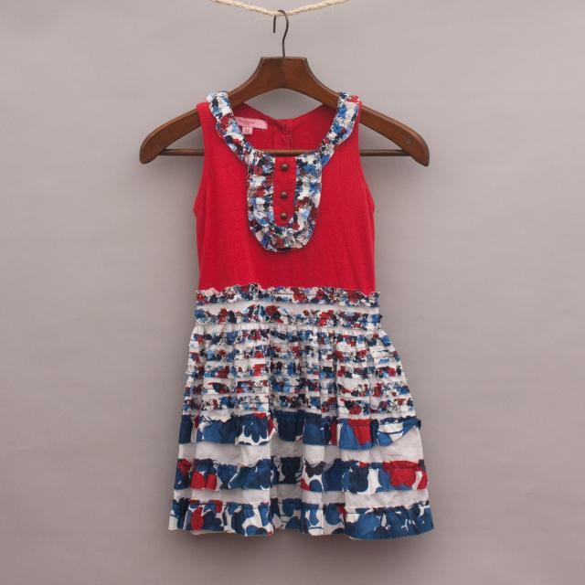 Beetlejuice Patterned Dress