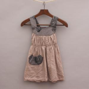Knuffle Kid Gathered Dress