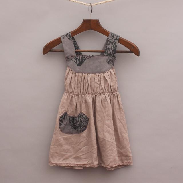 Knuffle Kid Gathered Dress