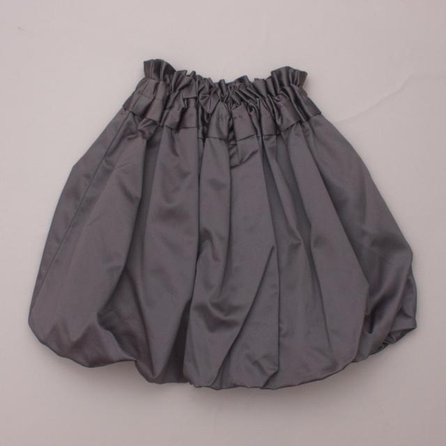 Chi The Label Metallic Bubble Skirt