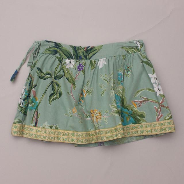 Babushka Baby Patterned Skirt