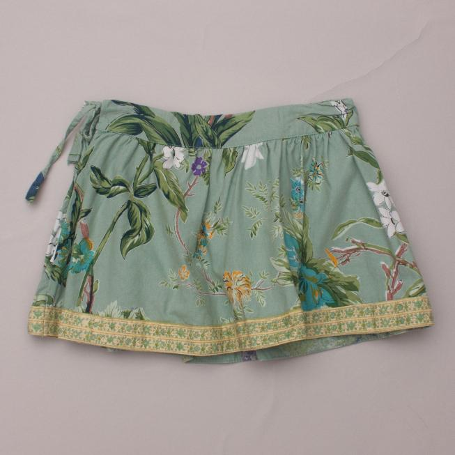 Babushka Baby Patterned Skirt