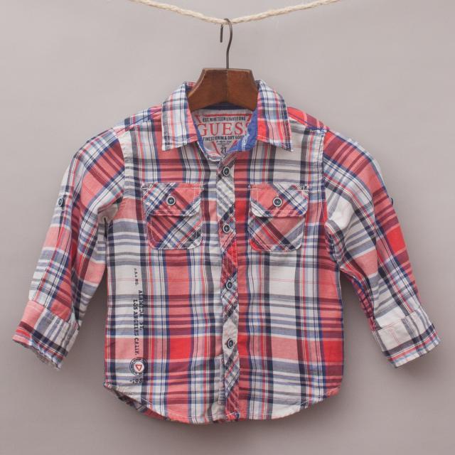 Guess Plaid Shirt