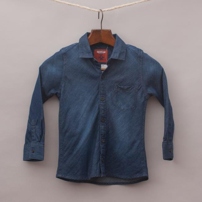 "Next Chambray Shirt ""Brand New"""