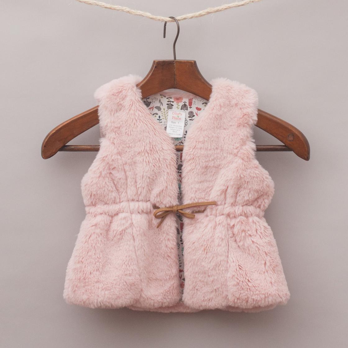 Ollie's Place Faux Fur Vest