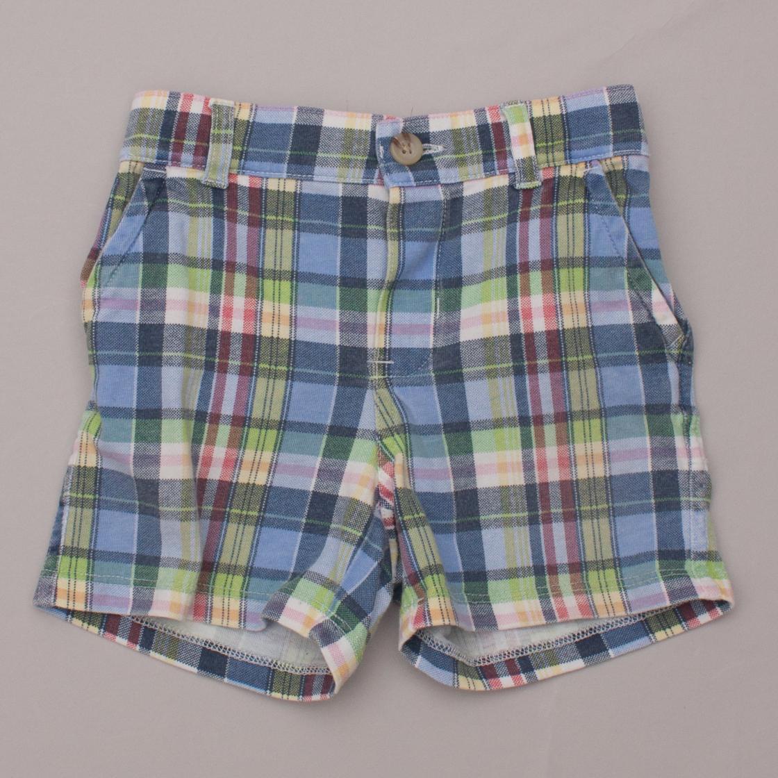 Ralph Lauren Plaid Shorts