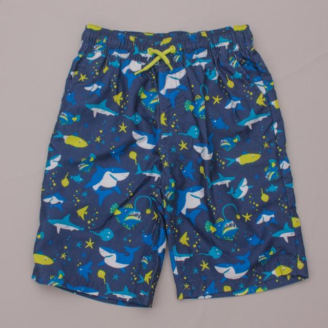 "Mountain Warehouse Shark Boardshorts ""Brand New"""