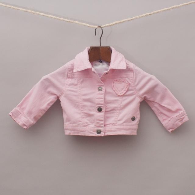 Grain De Ble Pink Jacket