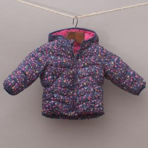 Mothercare Floral Puffer Jacket