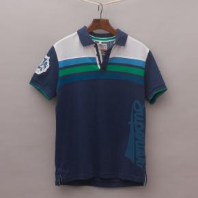 M&S Striped Polo Shirt
