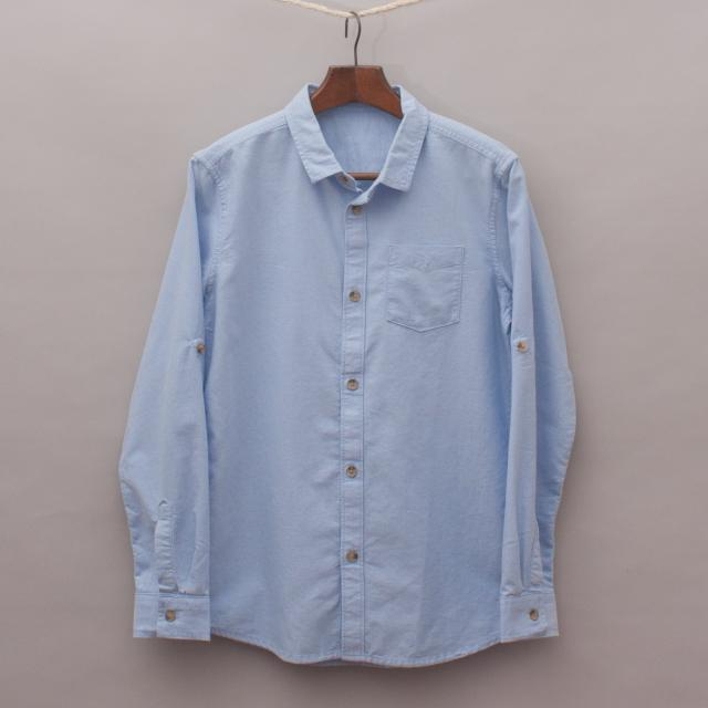 M&S Blue Shirt