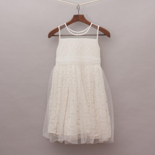 Minihaha Lace & Tulle Dress