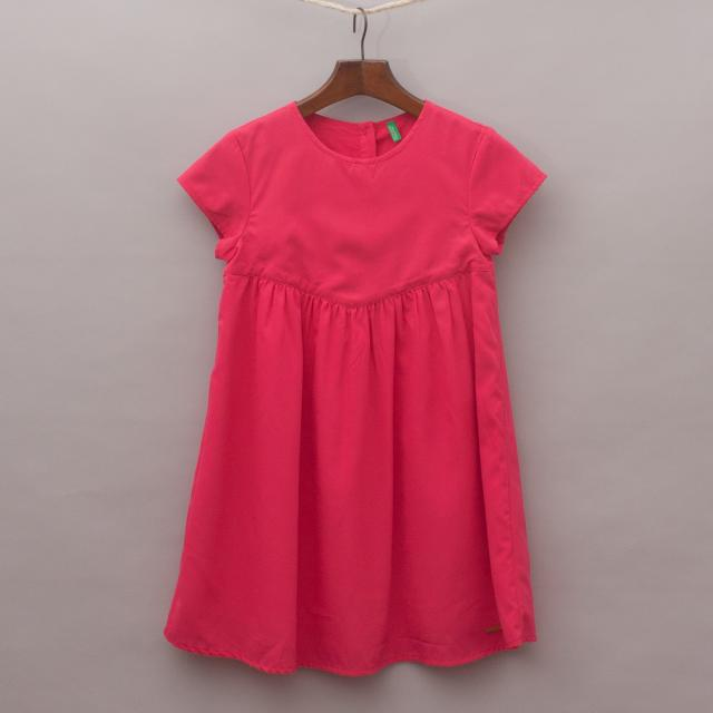 United Colours of Benetton Pink Dress