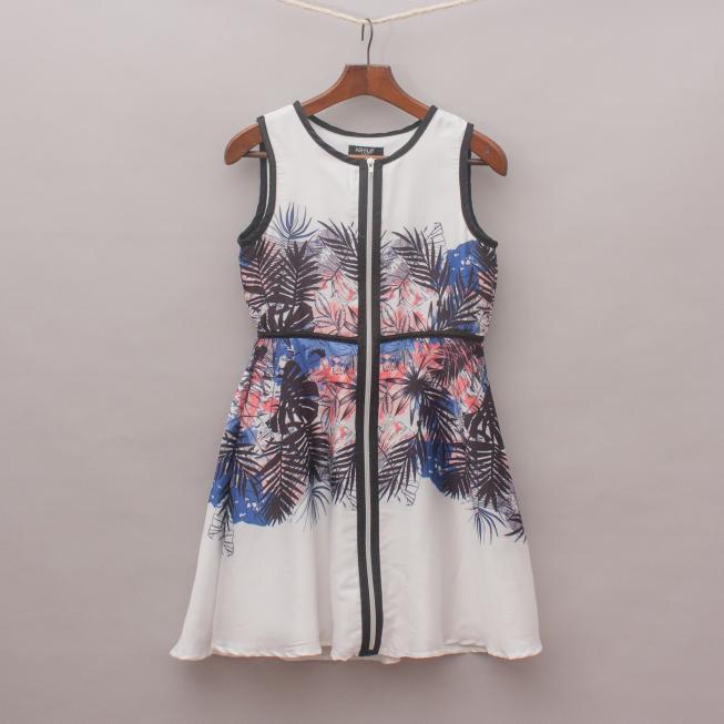 Wayne Jnr Leaf Dress