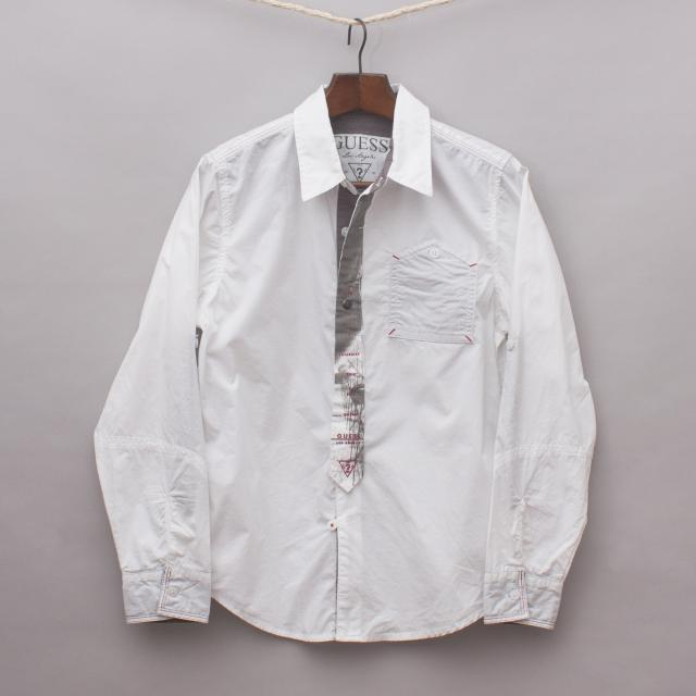 Guess Detailed Shirt
