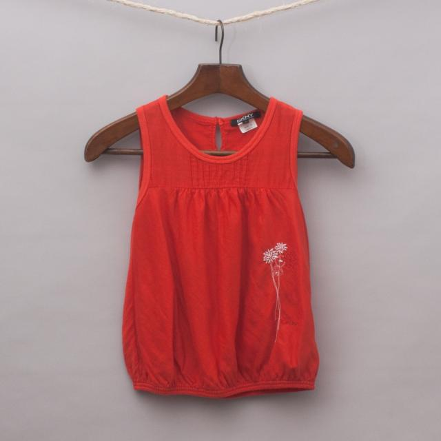 DKNY Red Tank Top
