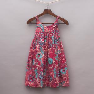 Run Scotty Run Patterned Dress
