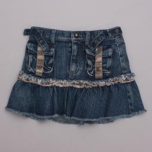 Guess Detailed Denim Skirt