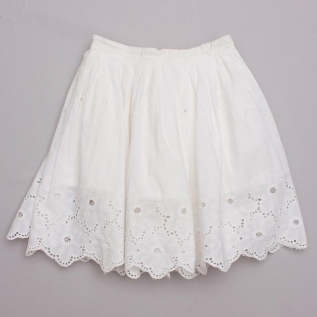Big Broderie Anglaise Skirt