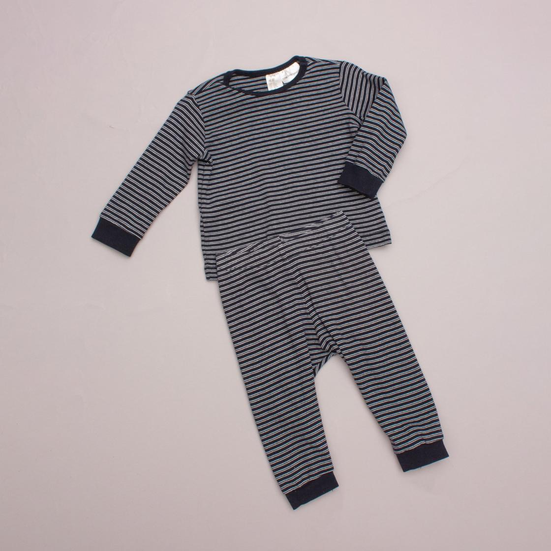 H&M Striped Pajamas