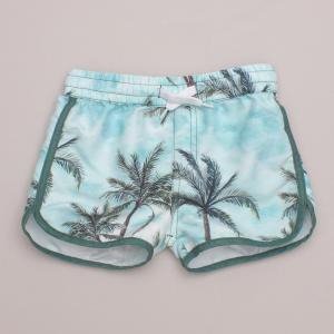 Milky Palm Shorts