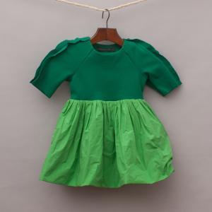 Mummy Moon Green Dress