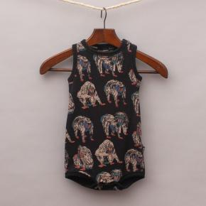 Rock Your Baby Baboon Romper